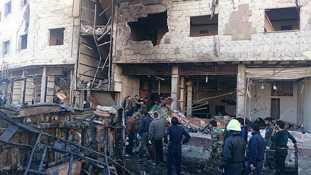 Blasts close to Damascus' main Shi'ite shrine kill 60 - monitor