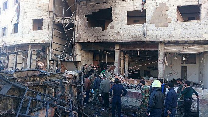 Az Iszlám Állam nevű terrorszervezet robbantott Damaszkuszban