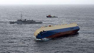 Francia: la nave cargo si arenerà presto