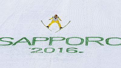Skispringer Freund und Freitag verpassen Weltcup-Podest in Sapporo