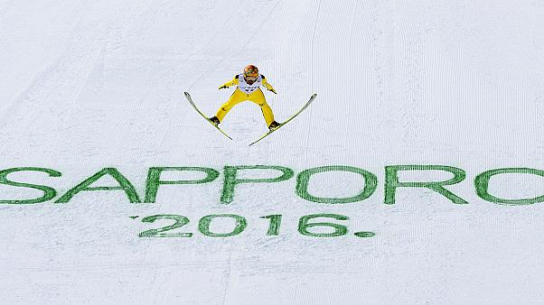 غرافيتي: النرويج تستعيد تألقها في القفز على الثلج بسابورو اليابانية