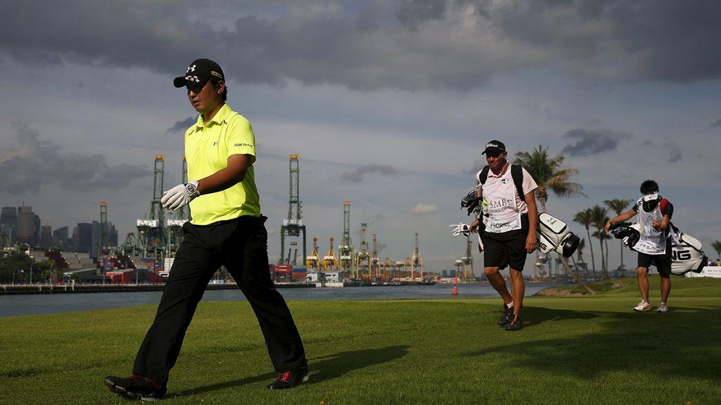 Finale der Singapore Open - Abbruch wegen Regens