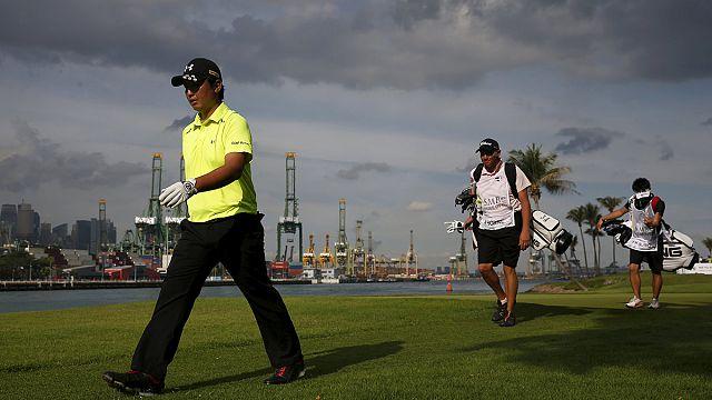 Singapur Golf Turnuvası yine yarım kaldı