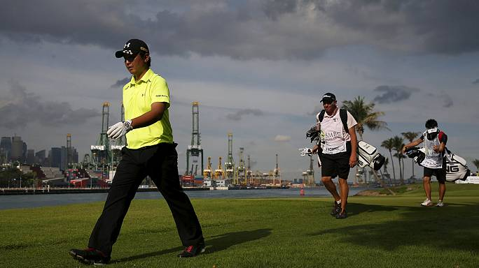 Golf: Close finish for Singapore Open on the cards as rain stops play on Sunday