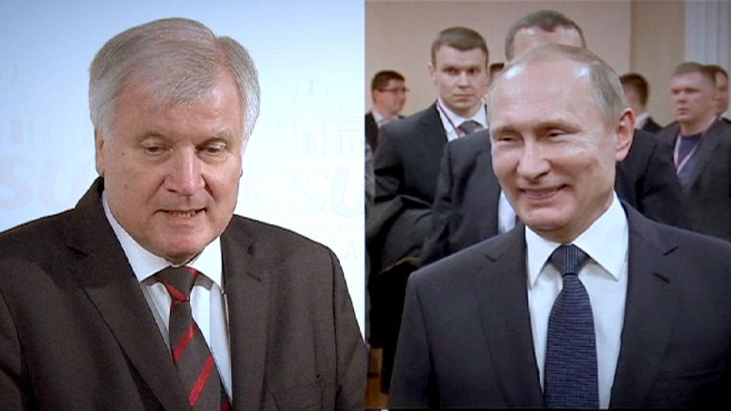 Anti-Merkel-Treffen? Seehofer in Moskau