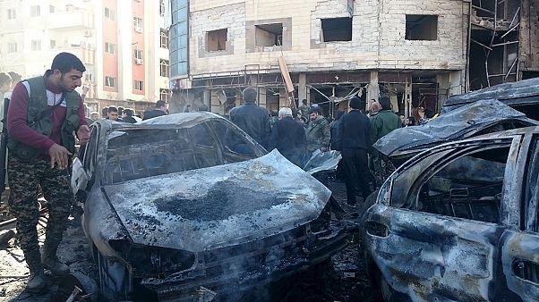 Al menos 70 muertos en un triple atentado suicida del EI en Damasco