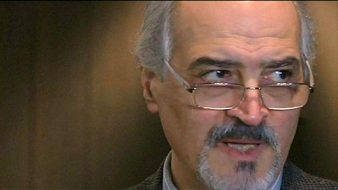 Syria peace talks: UN mediator 'optimistic and determined'