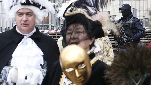 Menace terroriste : bas les masques au carnaval de Venise