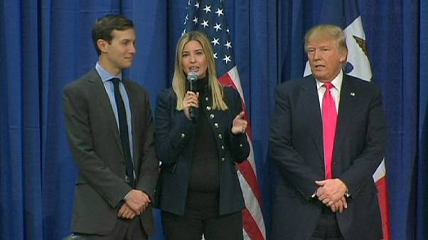 Clinton and Trump play family card in final hours before Iowa vote