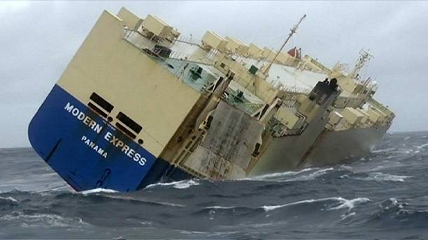 Time is running out for stricken freighter as it drifts towards French coast