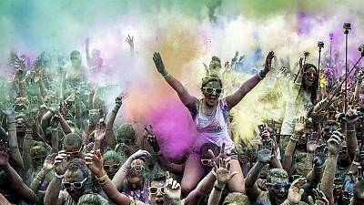 'Color Me Rad' drench Lagos runners in colours