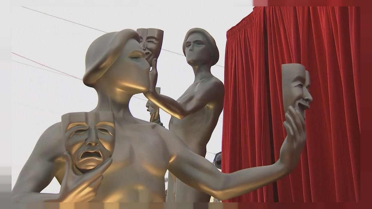 Diversity dominates SAG awards as Oscar row rumbles on