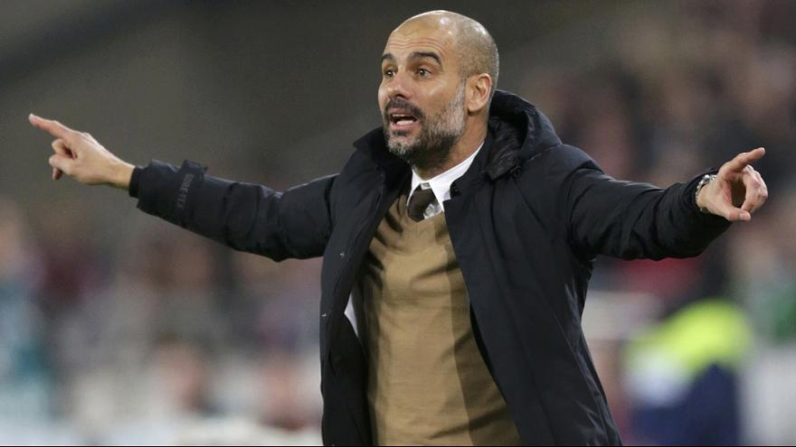 Guardiola signs three-year contract to manage Manchester City