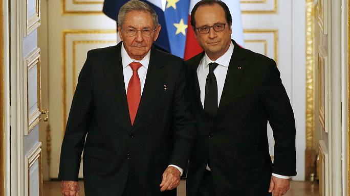 Castro-Hollande: fellendítik a kubai-francia kapcsolatokat