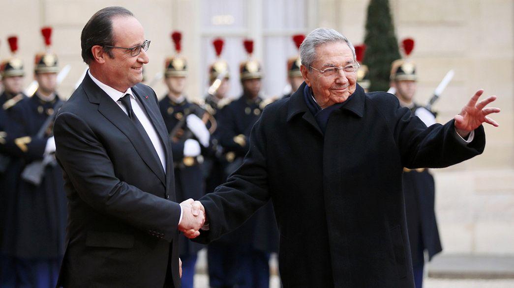 Francia e Cuba, più vicine che mai