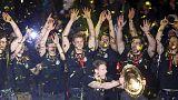 Handball: Germany return home to hero's welcome