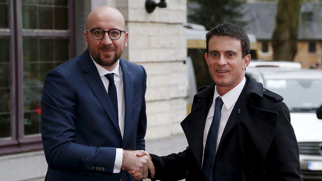Bélgica y Francia refuerzan su lucha contra el terrorismo y piden más colaboración de la UE