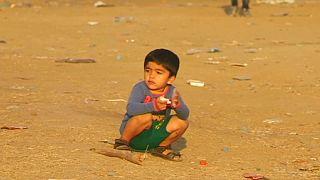 Niños refugiados: un drama sin fin