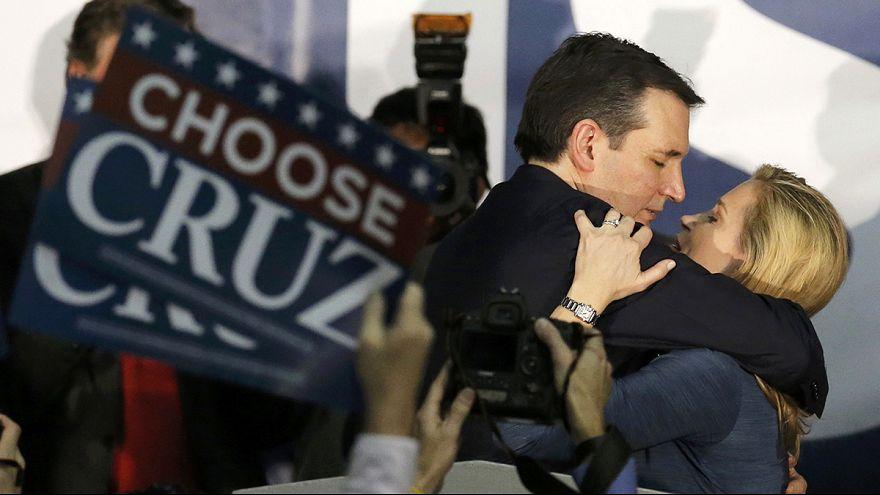 Vorwahl in Iowa: Ted Cruz übertrumpft Donald Trump