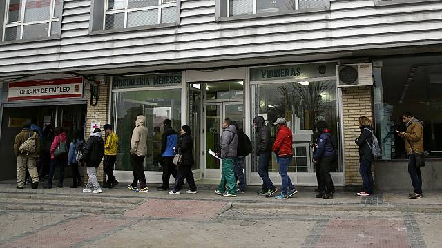 ارتفاع عدد طالبي العمل في اسبانيا ب 1.4 % شهر يناير
