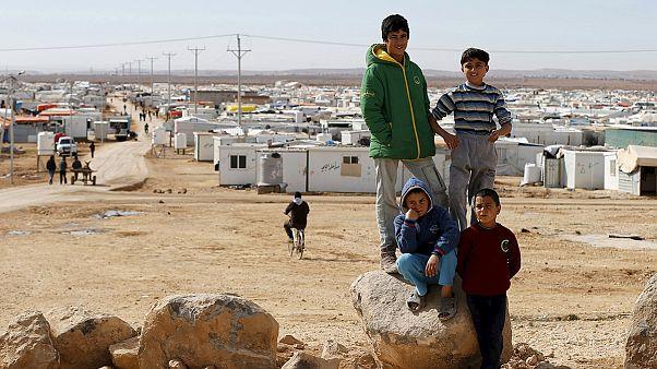 Una nueva ola de refugiados sirios llega a Jordania debido a las bombas rusas