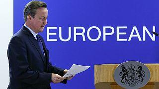 """David Cameron salue de """"réels progrès"""" dans les propositions de Donald Tusk pour éviter un """"Brexit"""""""