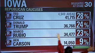 EE.UU: Iowa, primera sorpresa en el largo combate por la presidencia