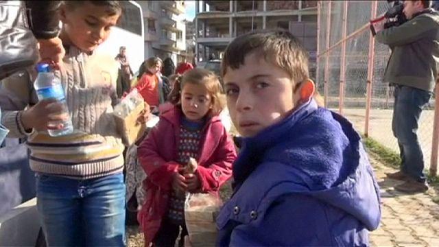 أكثر من 3600 تركماني يدخلون تركيا فارين من سوريا