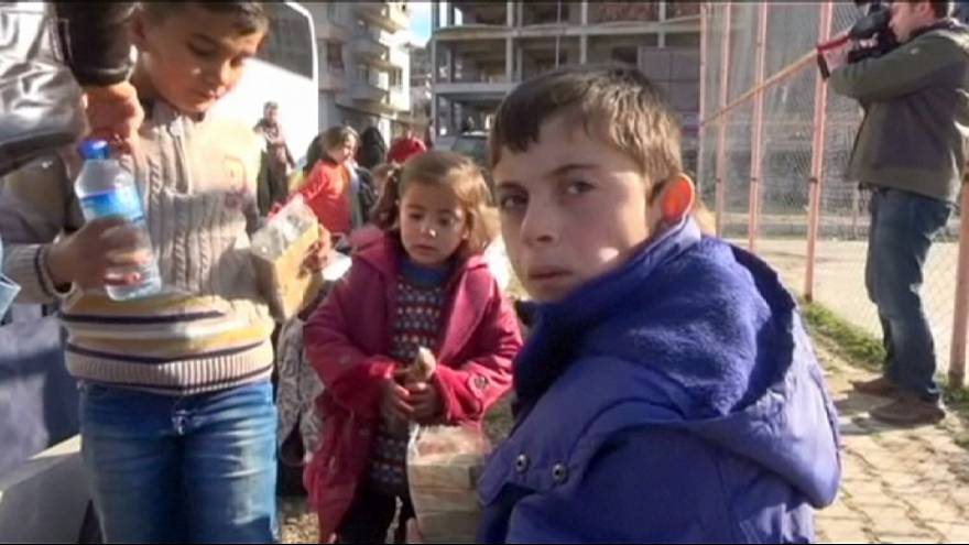 Сирийские туркоманы бегут от боев в Латакии