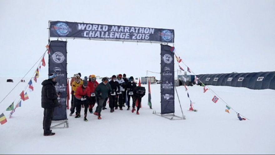 7 kıtada 7 maraton