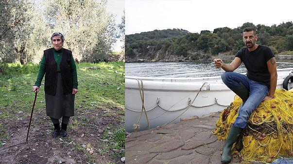 Dos nuevos centros de registro en la isla de Lesbos