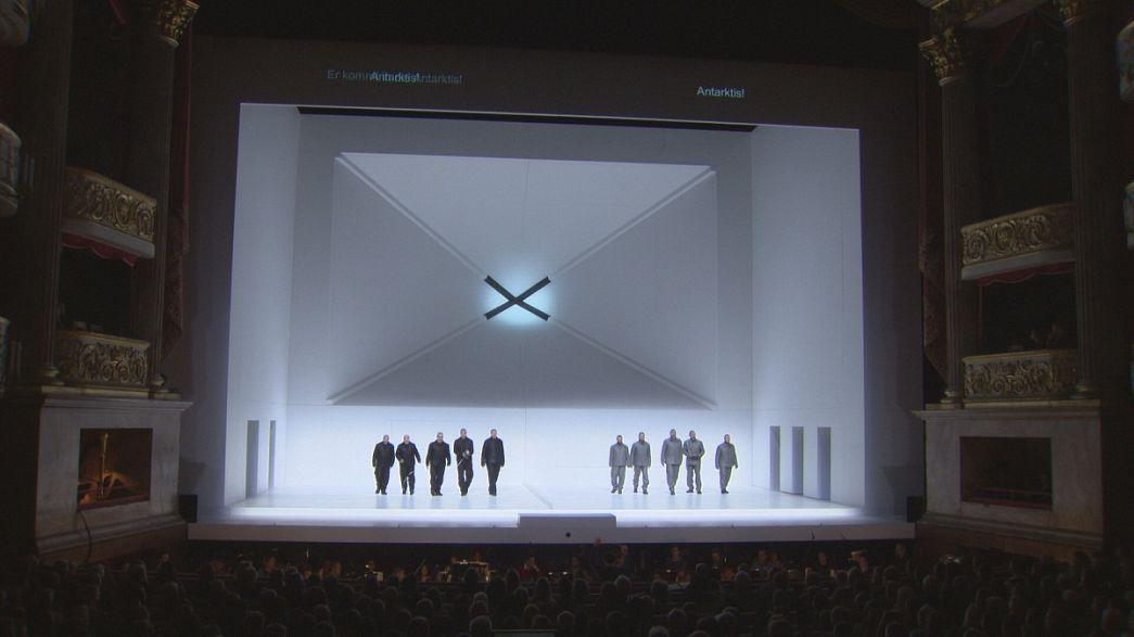 Das dramatische Rennen zum Südpol als Oper