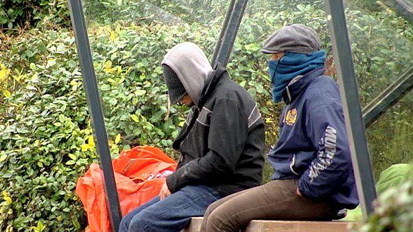 تزايد في عدد اللاجئين قرب بعض المرافئ البلجيكية