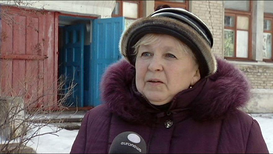 Ukrayna'nın doğusunda yaşayanların zorlu hayat mücadelesi