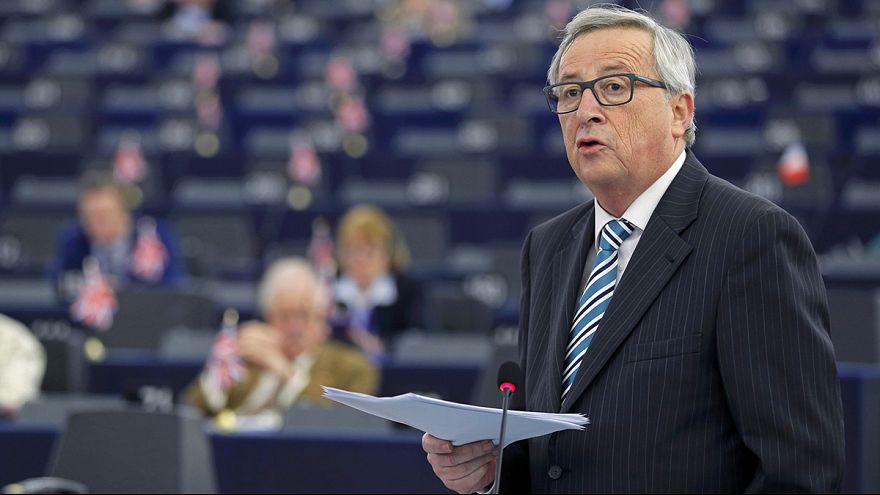 Divisões no Parlamento Europeu por causa da proposta de acordo com Reino Unido
