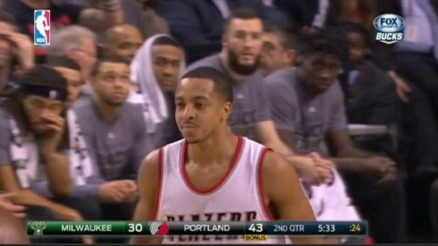 Los Trail Blazers vencen a los Bucks y amplían su racha triunfal en la NBA