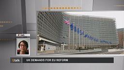 Britain's demands for EU reform