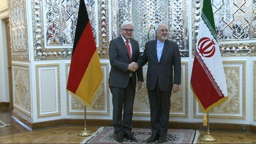 Almanya Dışişleri Bakanı Frank-Walter Steinmeier Tahran'da