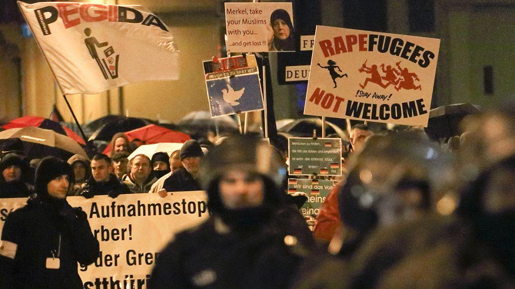 Pegida-Demo in Calais verboten