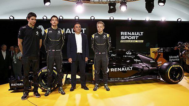 Magnussen und Palmer steuern neuen Formel-1-Renault