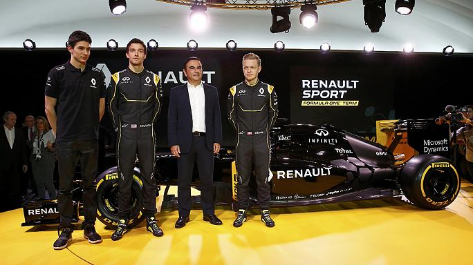 Formula One: Renault present car and team for 2016