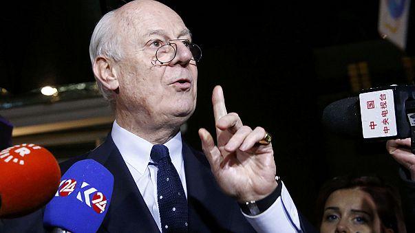 Syriengespräche in Genf auf Ende Februar vertagt