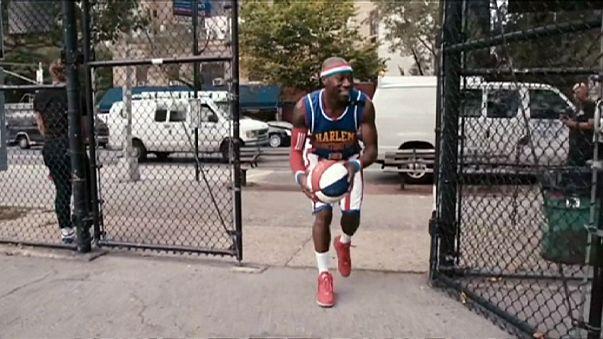 Nouvelle vidéo des Harlem Globetrotters