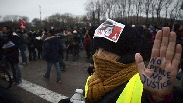 МВД Франции запретило демонстрации в Кале
