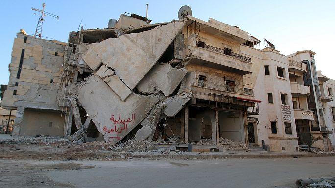 Rus destekli Suriye ordusu tüm gücüyle Halep'e yükleniyor