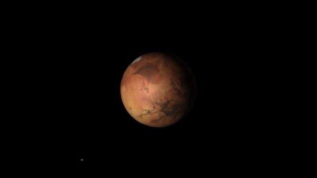 La Lune et Mars dans la Balance
