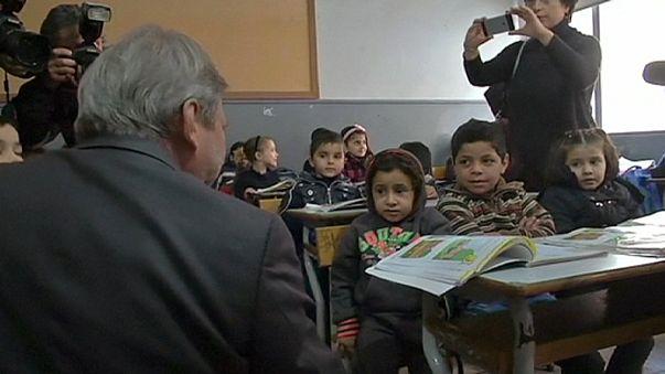 Fókuszban a menekült gyerekek oktatása