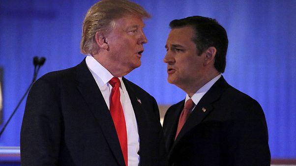 دونالد ترامپ می گوید تد کروز در آیووا انتخابات را دزدیده است