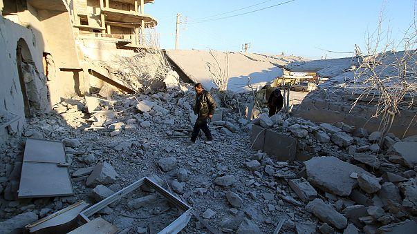La ofensiva del régimen sirio en Alepo con ayuda de Rusia paraliza las conversaciones de paz