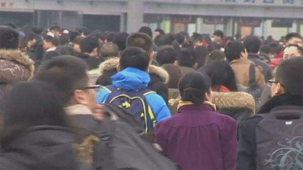 Flussi migratori per le vacanze in Cina